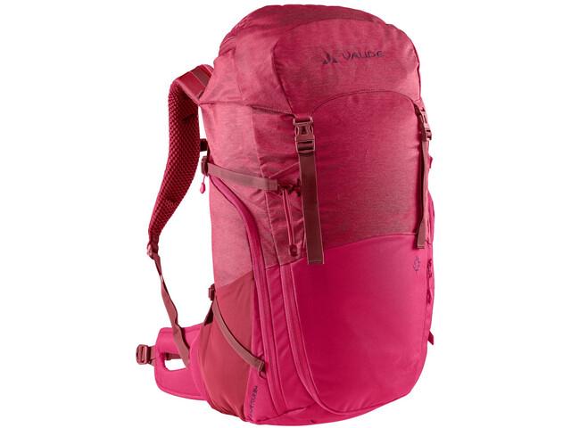 VAUDE Skomer Tour 36+ Backpack Women, crimson red